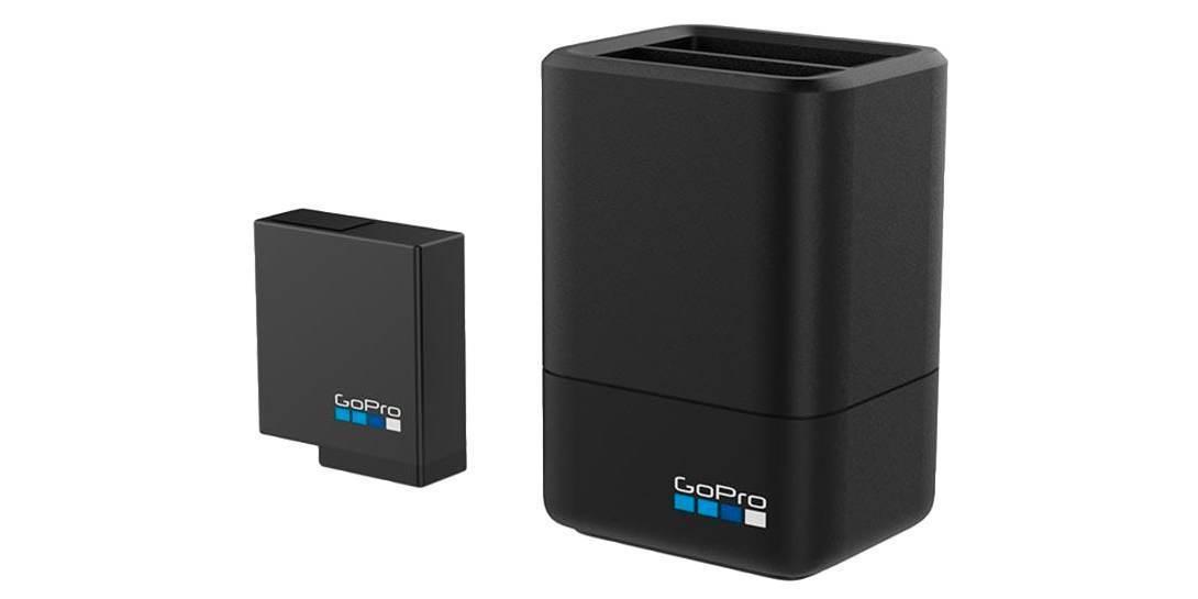 Зарядное устройство для двух аккумуляторов GoPro HERO5/6/7 Black Dual Battery Charger + Battery
