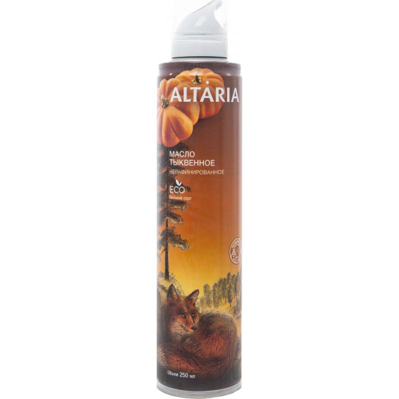 Алтария масло тыквы нерафинированное 250 мл