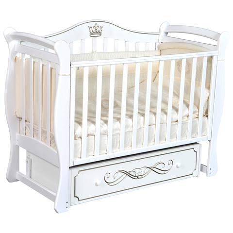 Кровать детская Виолетта B-1 (универсальный маятник, закрытый ящик)