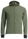 Элитная Беговая непромокаемая куртка Gri Джеди 2.0 оливковая
