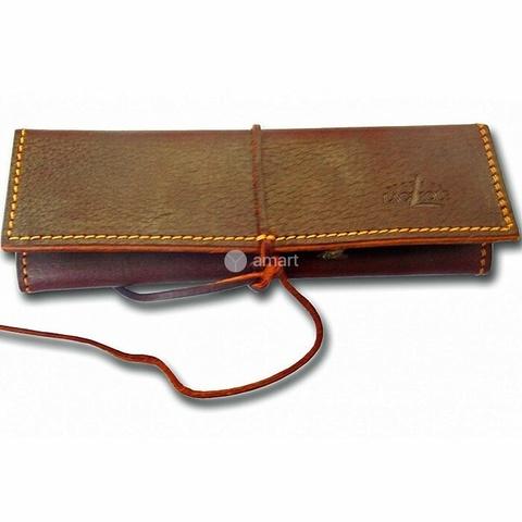 Чехол кожаный для ножа с лезвием 9 см, Forge de Laguiole, дизайн ETUI ETUI CA