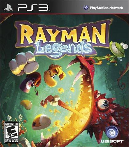 Rayman Legends (PS3, русская версия)