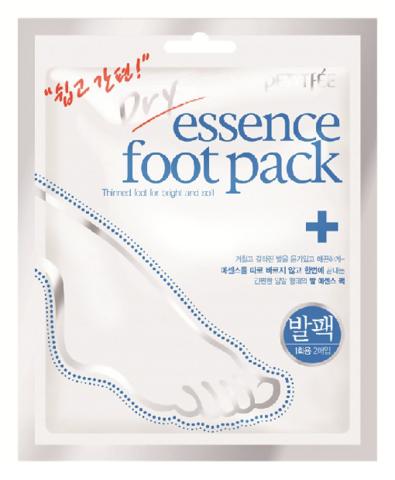 Маска для ног Petitfee Dry Essence Foot Pack смягчающая, питательная
