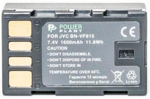 Аккумулятор JVC BN-VF815 1600mAh