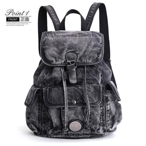 Джинсовый рюкзак Ipeen Jeans Classic Black