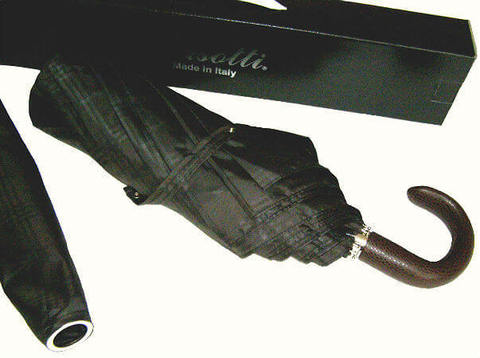 Зонт складной Pasotti 6434-15 Incrocio Handle Leather