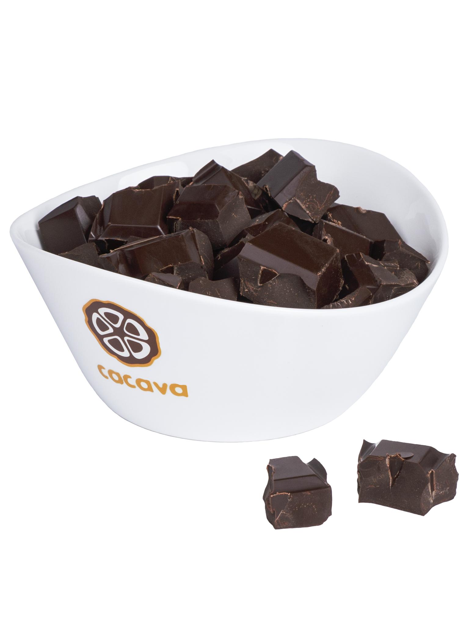 Какао тёртое кусочками (Коста-Рика), внешний вид