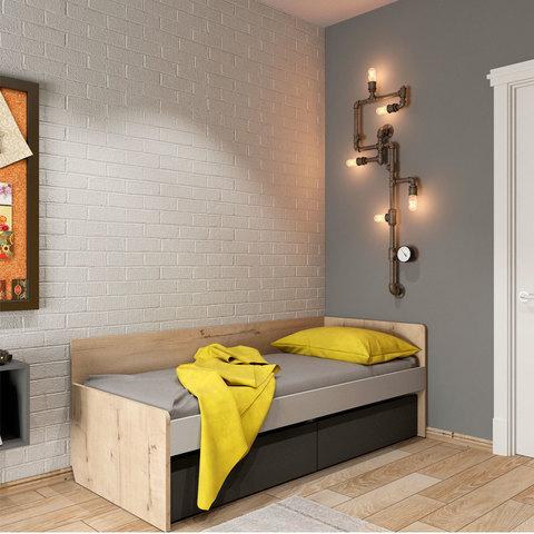 Кровать нижняя универсальная Твист Лофт 38 попугаев