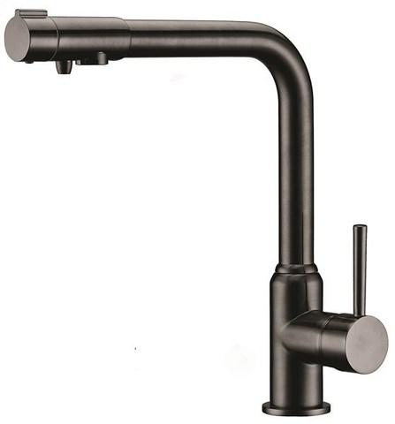 Смеситель KAISER Teka 13044-2 черный глянец для кухни под фильтр