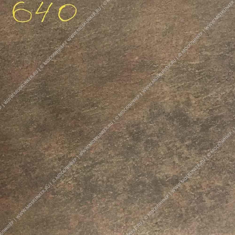Stroeher - Keraplatte Asar 640 maro 340x294x12 артикул 9350 - Клинкерная ступень - флорентинер