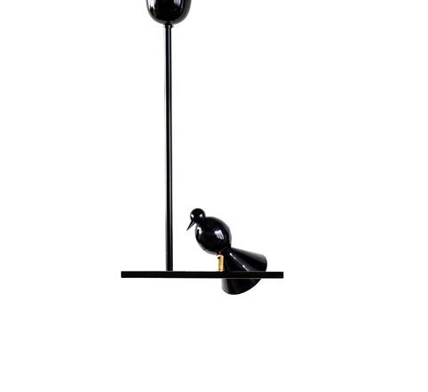 Потолочный светильник копия Alouette by Atelier Areti (черный)