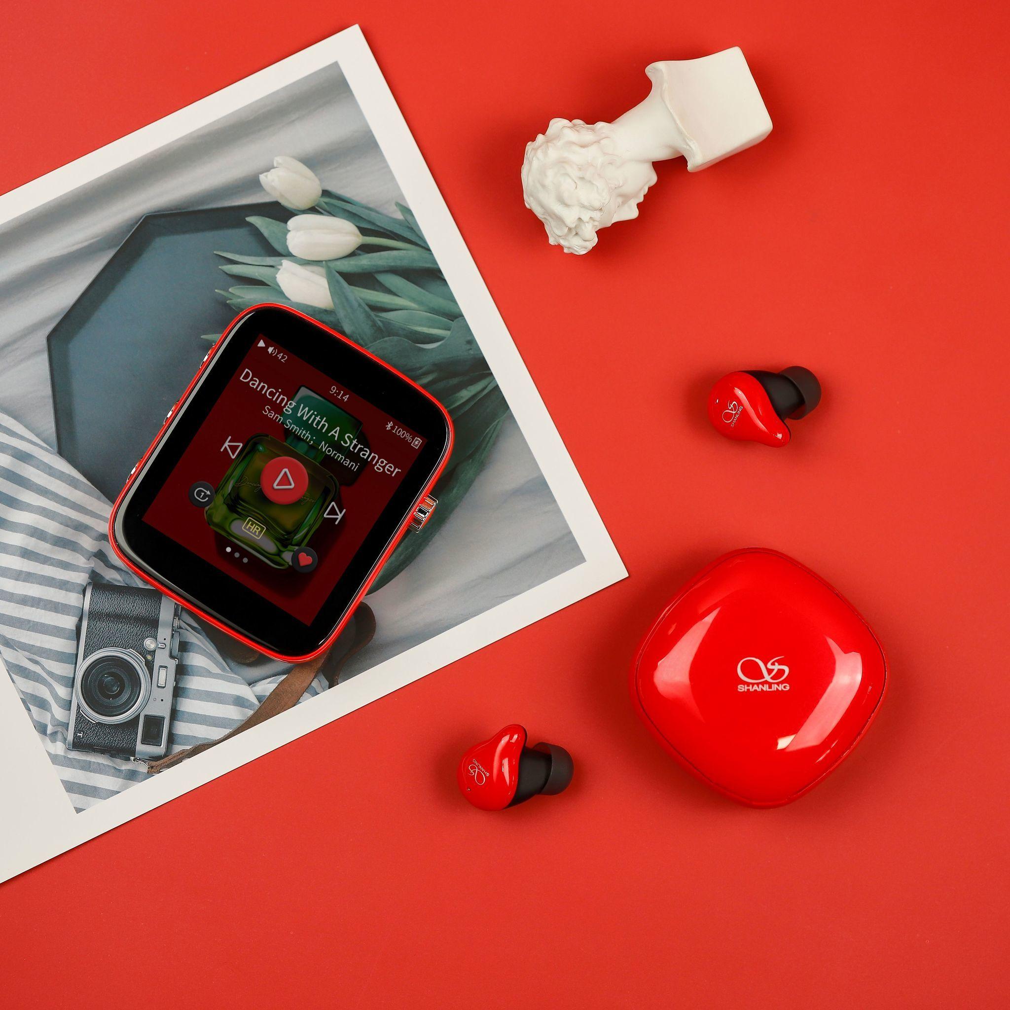 Shanling Q1 fire red, портативный аудиоплеер