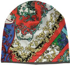 Женская шапочка бини с принтом Итальянское барокко