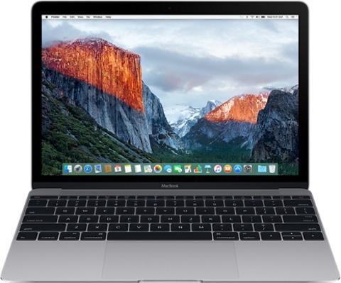 Apple Macbook 12 Mid 2017, Intel Core i5 1,3GHz, 8Gb, 512Gb SSD MNYG2 (Space Gray)