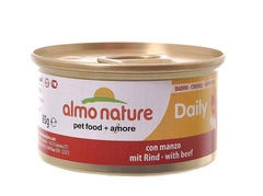 Консервы (банка) Almo Nature Daily Menu Cat Chunks with Beef
