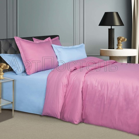 Комплект постельного белья 1,5 спальный Сатин Гавайи