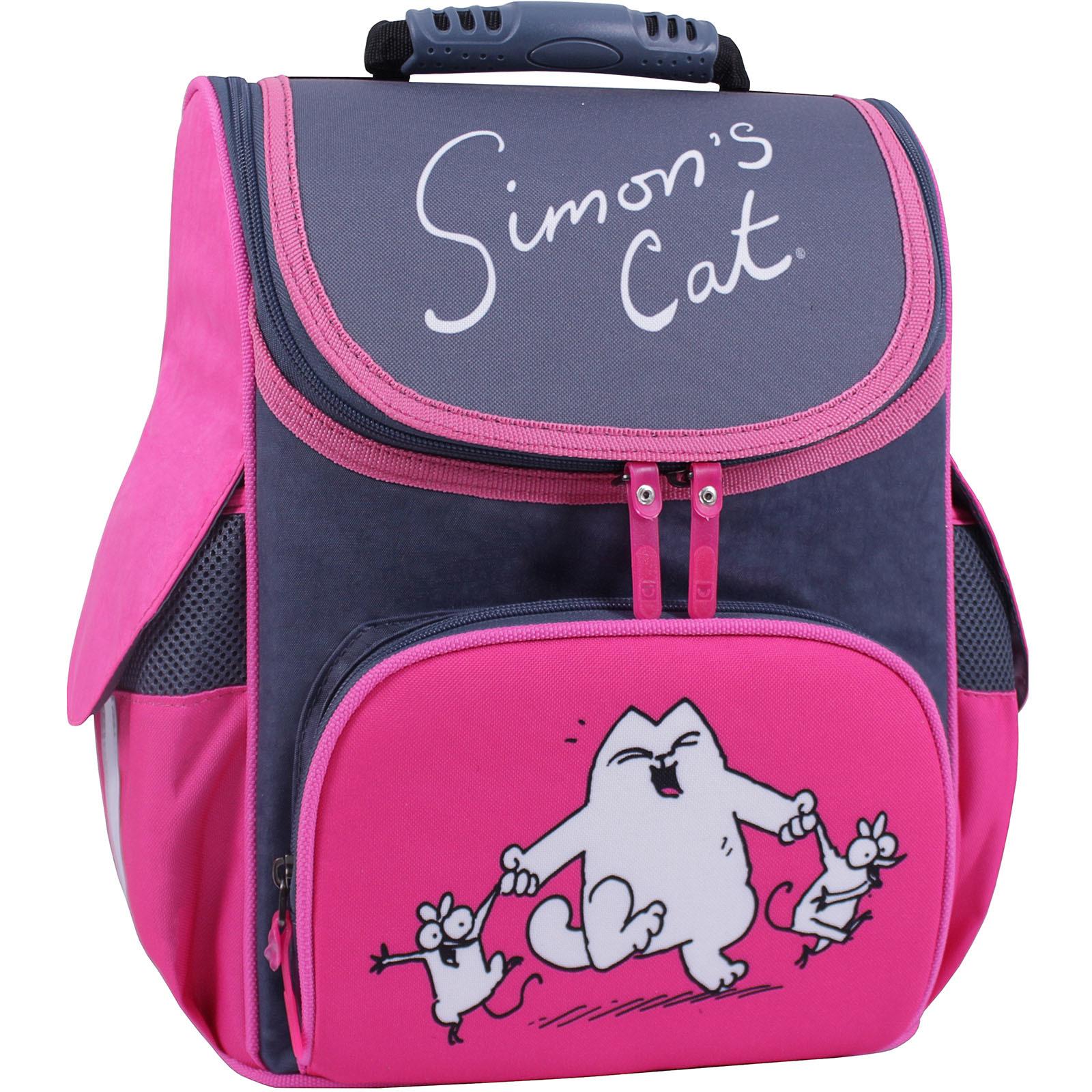 Школьные рюкзаки Рюкзак школьный каркасный Bagland Успех 12 л. Серый 366 (00551702) IMG_1193_суб.366_.JPG
