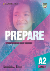 Prepare 2nd Edition 2 Student's Book with Onlin...