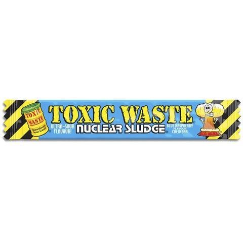 Жевательная конфета Toxic Waste Nuclear sludge со вкусом Малины 20 гр