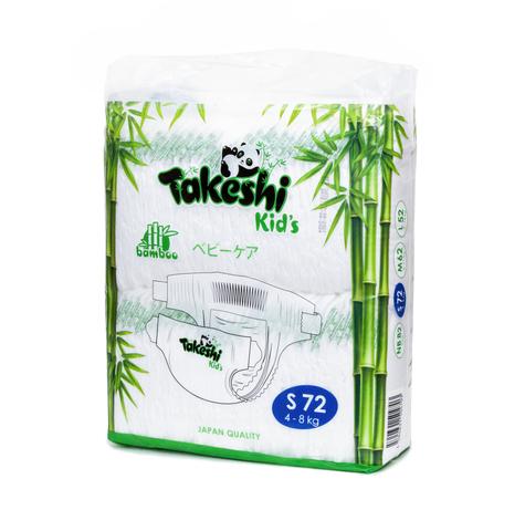 Подгузники Takeshi Kid's,  4-8 кг (S)