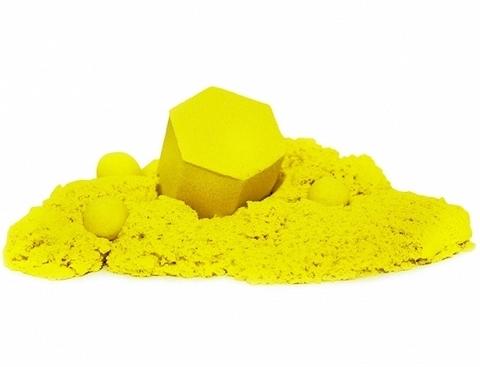 Кинетический пластилин Zephyr (Зефир) в дой-паке, желтый 300 гр
