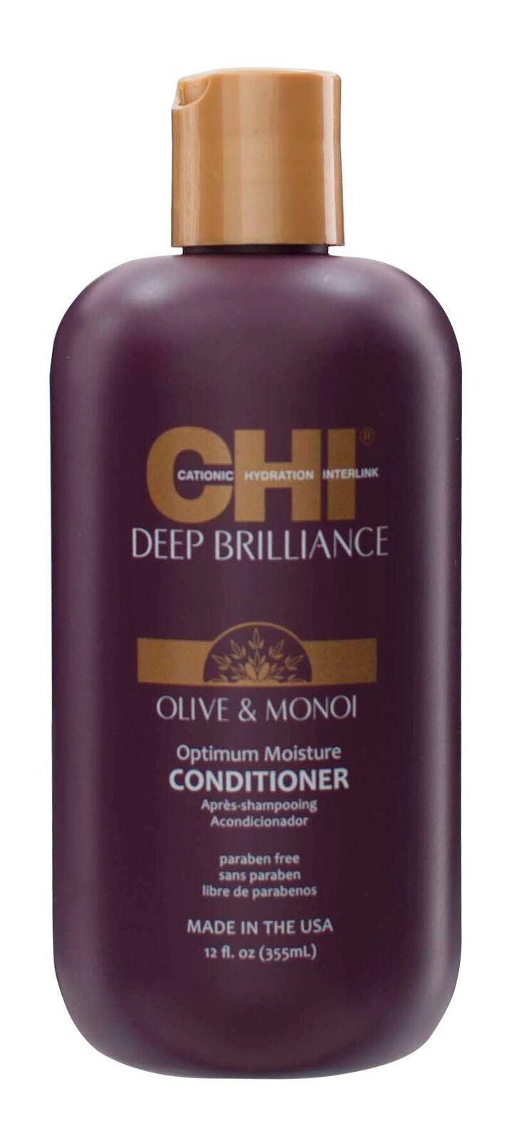 Кондиционер CHI Deep Brilliance Оптимальное Увлажнение, 355 мл