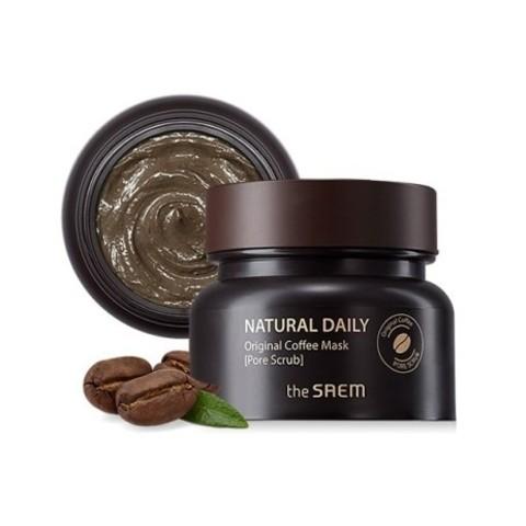 The Saem Natural Daily Original Coffee Mask кофейная маска-скраб для кожи с расширенными порами