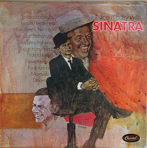 Виниловая пластинка. Frank Sinatra