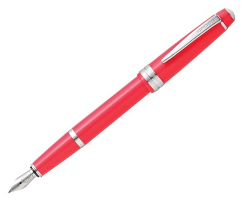 Cross Bailey Light - Coral Chrome, перьевая ручка, XF, шт