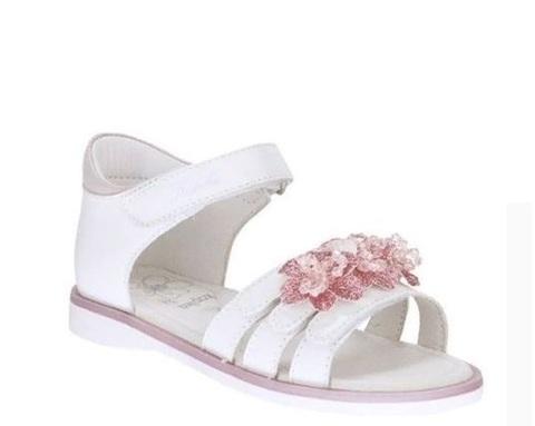 Сандалии открытые  розовые цветы, Kapika (ТРК ГагаринПарк)