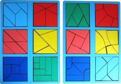 Сложи квадрат Б.П.Никитин 3 уровень (мини)