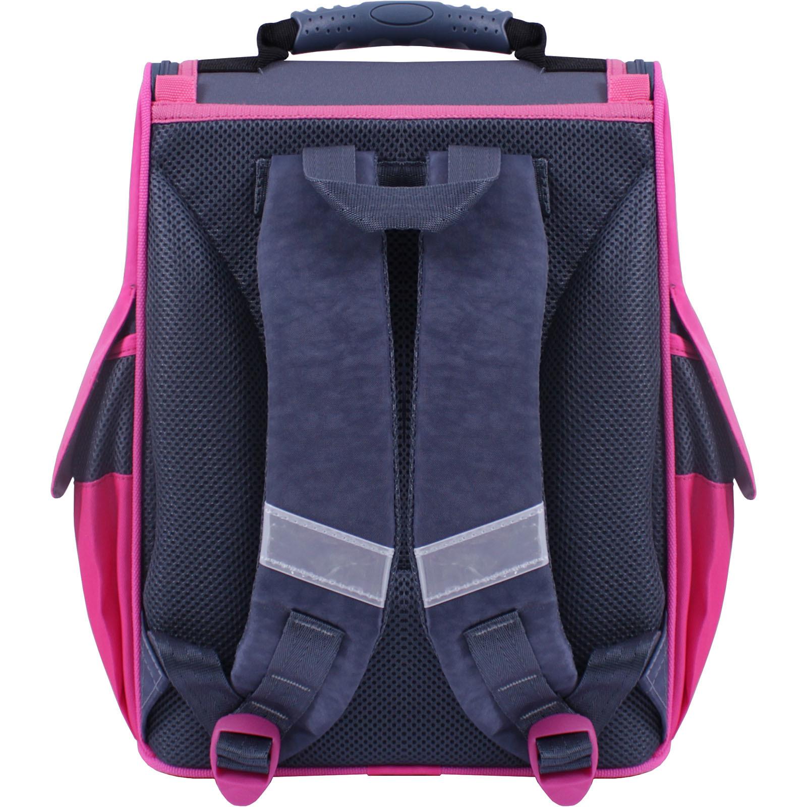 Рюкзак школьный каркасный Bagland Успех 12 л. Черный 366 (00551702) фото 3
