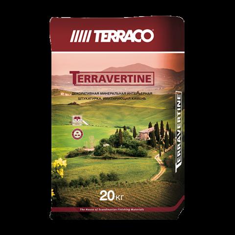 Terraco Terravertin/Террако Терравертин натуральная минеральная моделируемая декоративная штукатурка
