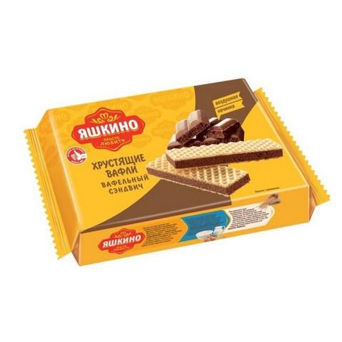 Вафли Яшкино Шоколайт 180 г