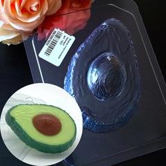 Пластиковая форма для шоколада дет. АВОКАДО 9см