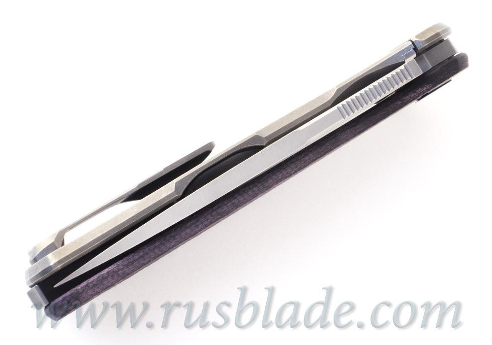Shirogorov HATI-R M390  Alutex Violet MRBS - фотография