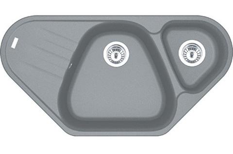 Кухонная мойка Franke AZG 661-E, серый камень
