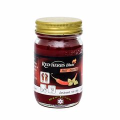 Традиционный красный тайский бальзам с перцем Чили / Red Hot Balm