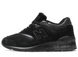 Кроссовки Женские New Balance 997 Black Edition