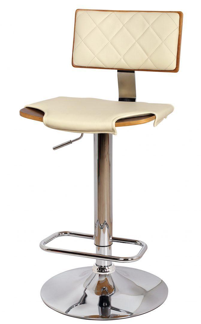 Барный стул JY986-4 бежевый