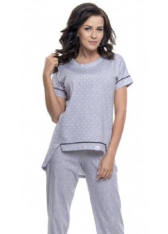 Пижама женская с принтом Маленькие сердечки