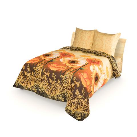 Комплект постельного белья Янтарные маки