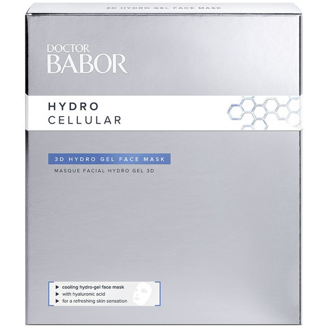 Doctor Babor 3D гидрогелевая маска для лица Hydro Cellular 3D Hydro Gel Face Mask