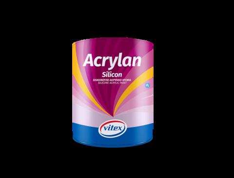 Акрил-силиконовая фасадная краска на водной основе- Acrylan Silicon