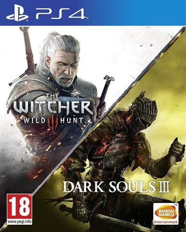 Ведьмак 3: Дикая Охота (английская версия) + Dark Souls III (PS4, русские субтитры)