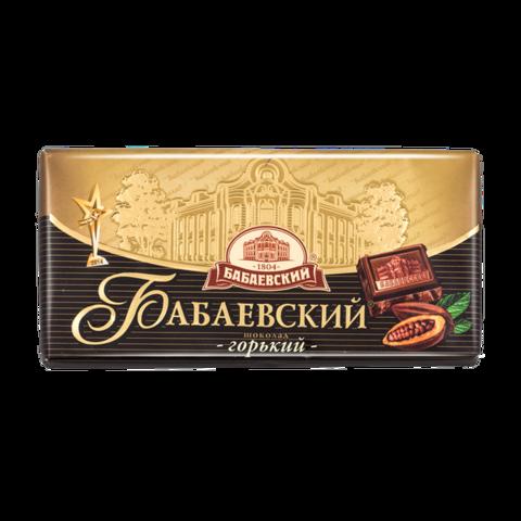 Шоколад Бабаевский горький КОНФЕТЫ ИП ШЕВЧУК 0,1шт