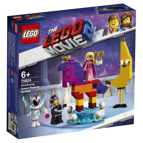 LEGO Movie: Познакомьтесь с королевой Многоликой Прекрасной 70824 — Introducing Queen Watevra Wa'Nabi — Лего Муви Фильм