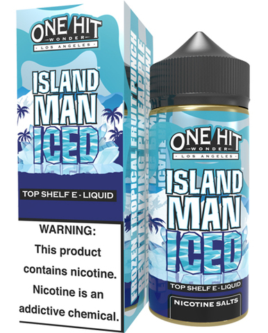 Жидкость One Hit Wonder 100 мл Island Man Iced