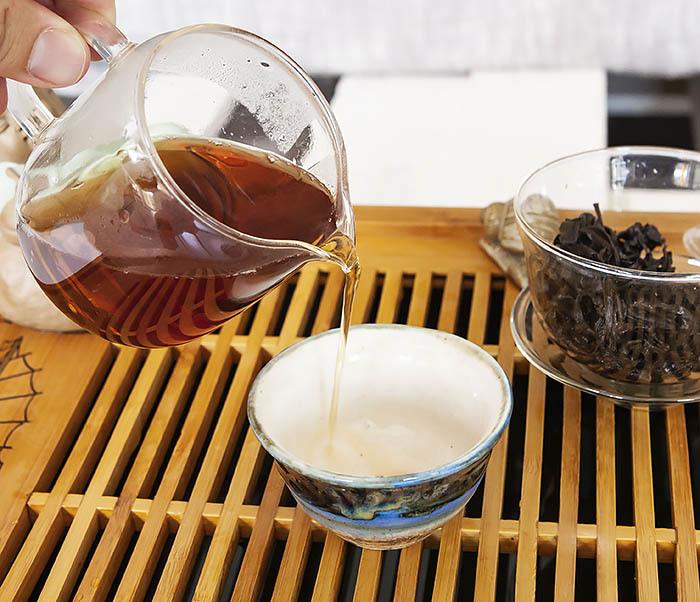 TEA-CH115 Китайский чай «Большой Красный Халат» (Да Хун Пао, сильная обжарка, 50 гр) фото 13