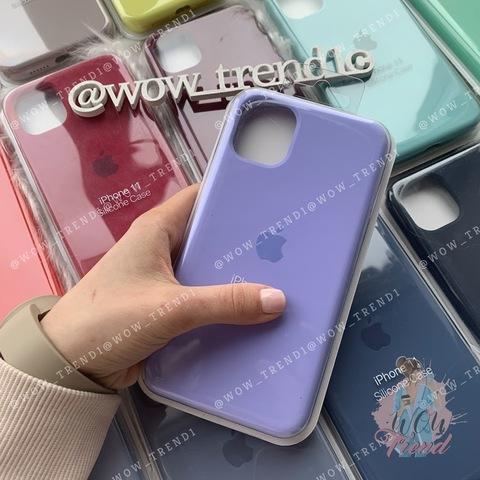 Чехол iPhone 11 Pro Max Silicone Case Full /glycine/